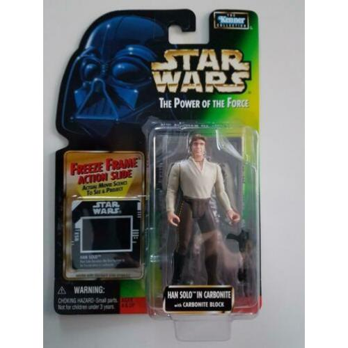 -40% Star Wars POTF FF Han Solo in Carbonite (Marie variant)