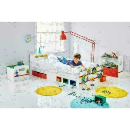 Lego ® Room2Build Kinderkamer - 3 Delig - Gratis Bezorging