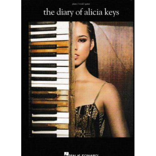 The Diary of Alicia Keys Piano Vocal Guitar (x407)