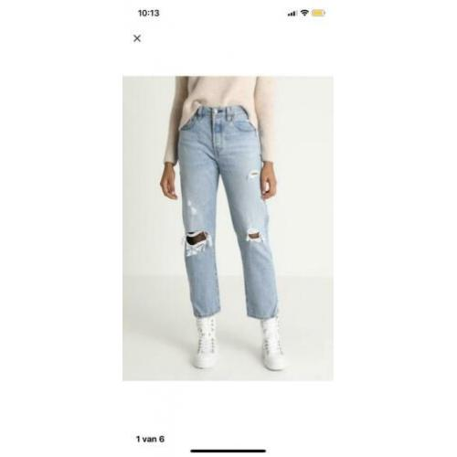 Levi's 501 CROP- straight leg jeans - automatically yours