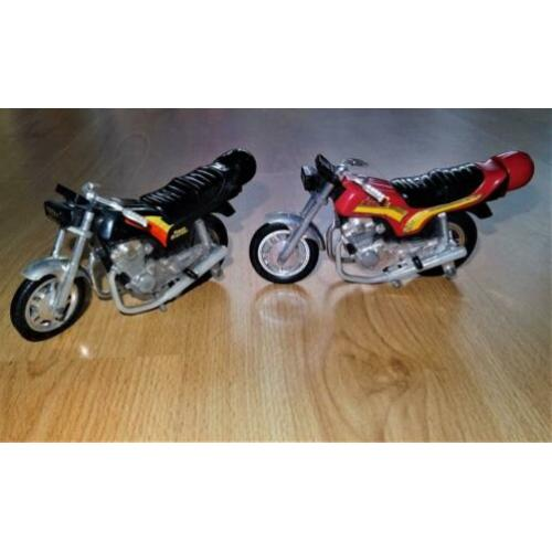 Vintage Power Blaster Motorcycle Toy by Kidco Inc. – 2 stuks