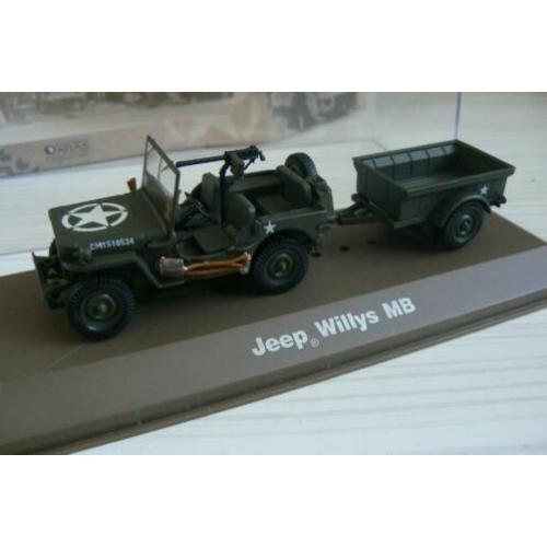 Atlas Jeep Willys MB 1/43